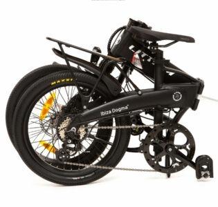 Bicicleta plegable Littium Ibiza Negra