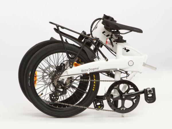 Bicicleta plegable Littium Ibiza Blanca