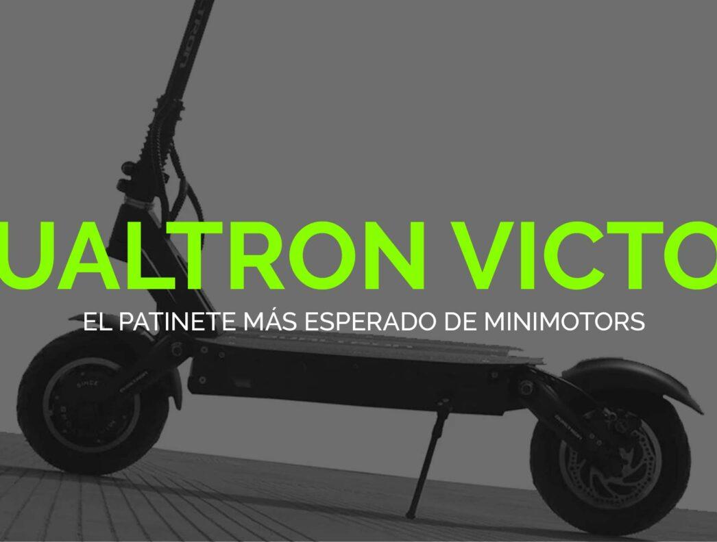 Dualtron Victor: El nuevo patinete eléctrico de Minimotors