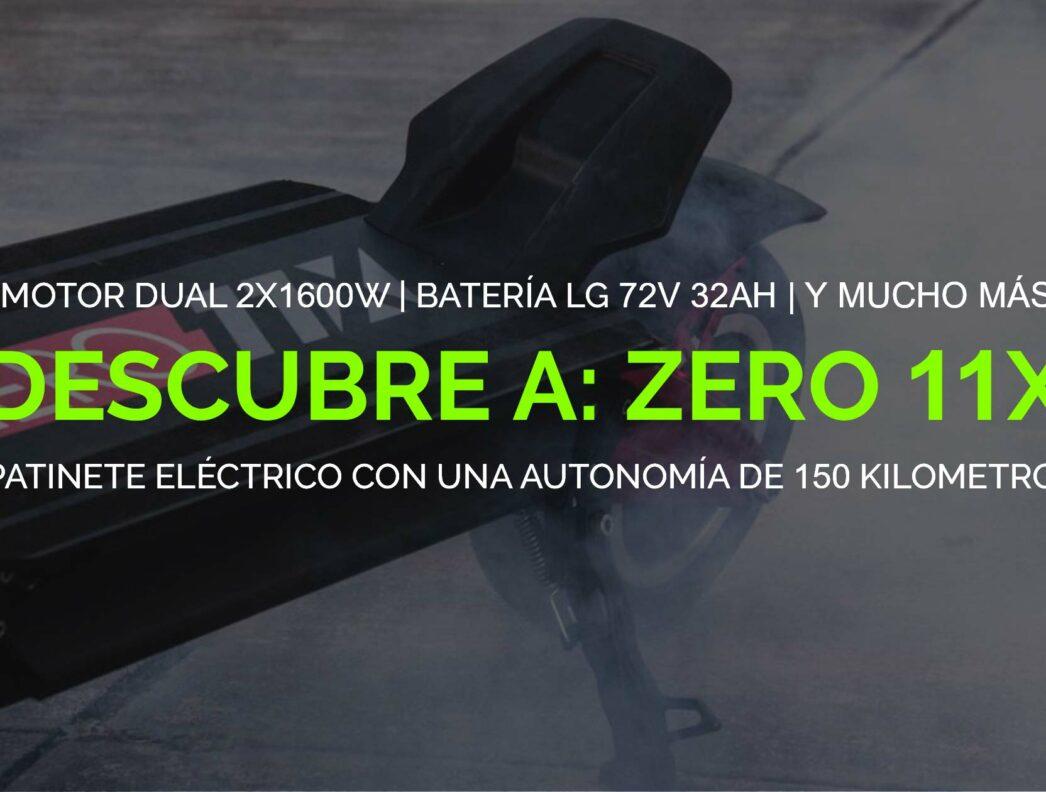 Zero 11X: Potencia y autonomía al máximo