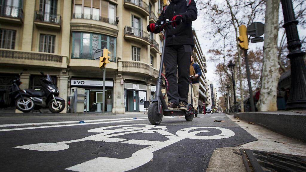 carril bici patinetes