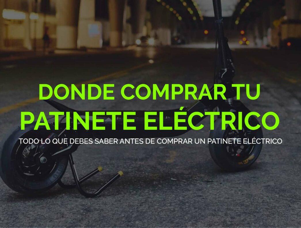 Donde comprar un patinete eléctrico en Barcelona?